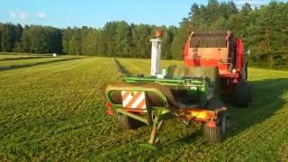 podlasie sianokosy 2016 2 pokos młodej trawy lely sipma maja john deere mccormick