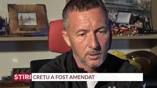 Crețu, amendat de FCSB după ce s-a luat de Todoran