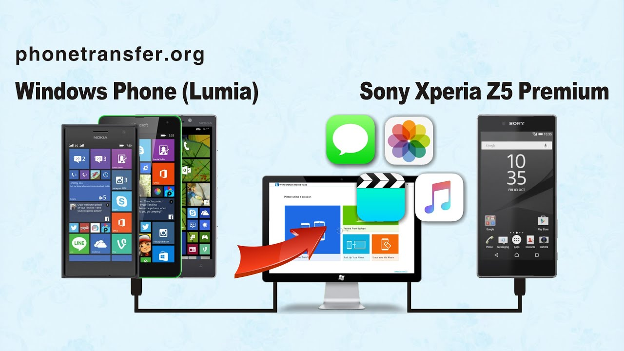 Windows phone 10 data - How To Transfer All Data From Windows Phone Lumia To Sony Xperia Z5 Premium