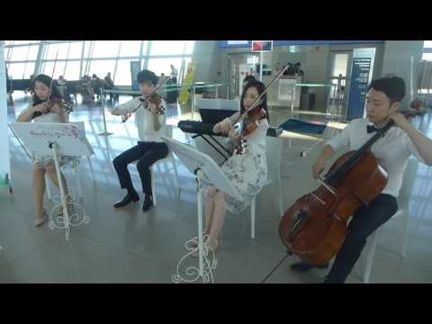 Culture Touch The Sky -- We Are The World -- Incheon Airport