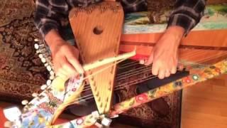 Bowed Psaltery + Harp=Harpolin