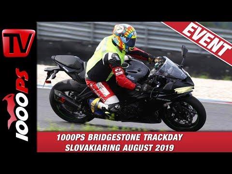 Motorrad fahren lernen auf der Rennstrecke? 1000PS Trackdays Slovakiaring 2019
