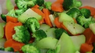 Dieta de verduras sancochadas
