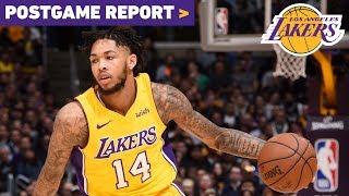 Postgame Report: Ingram, Ball and Nance Jr lead Lakers to third-straight win
