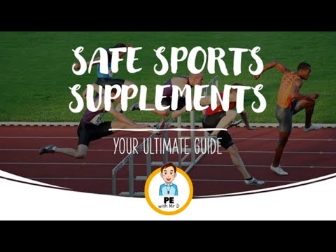 Safe Sport Supplements | Which work and which don't? - Part 1/4 (18+)