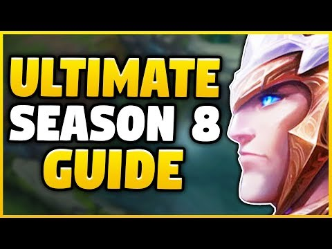 THE #1 BEST SEASON 8 GAREN GUIDE! EVERYTHING YOU NEED TO KNOW IN ONE GUIDE! - League of Legends