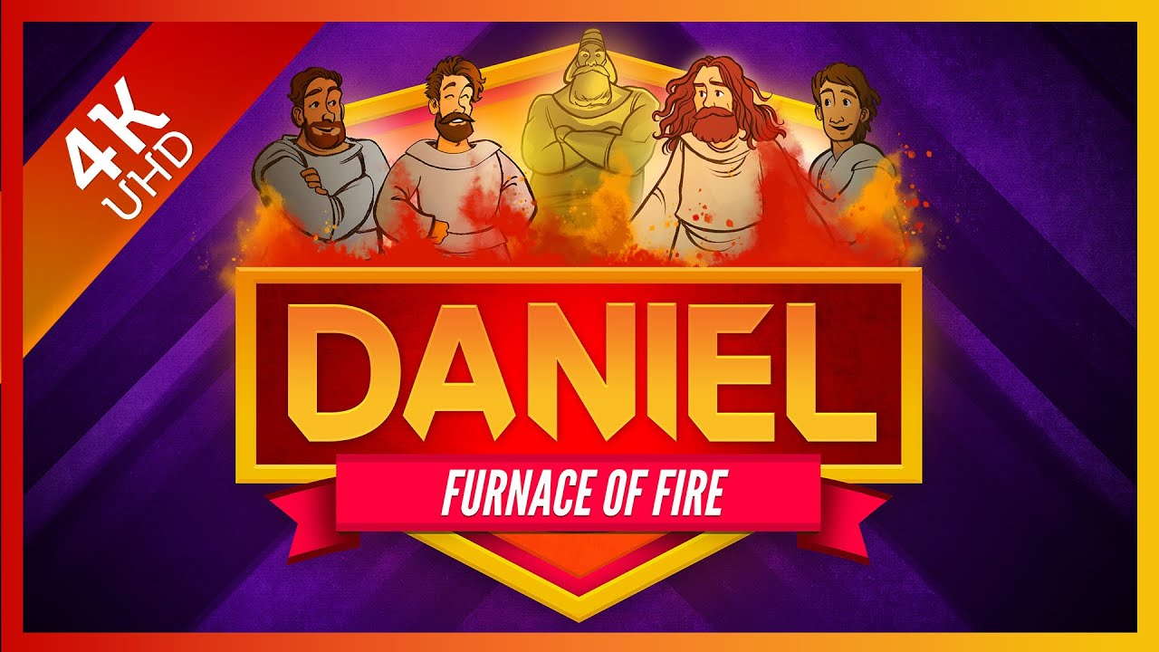 Download Shadrach, Meshach, and Abednego: The Furnace of Fire - Daniel 3 Bible Story   Sharefaith Kids
