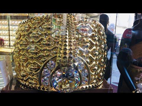 Dubai Gold souq Most famous Dubai Gold market|Dubai|Deira|Gold|