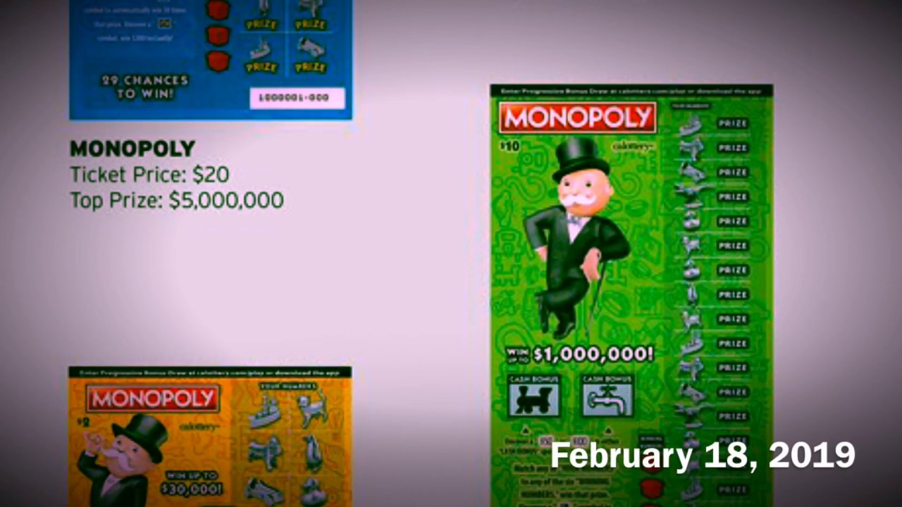 Monopoly Scratchers - Somewhat Closer Look