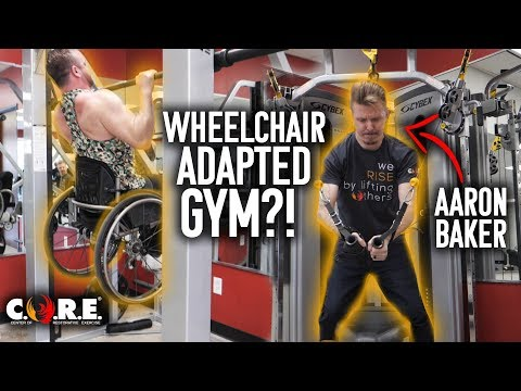 Wheelchair Adapted Workout with Aaron Baker at C.O.R.E.