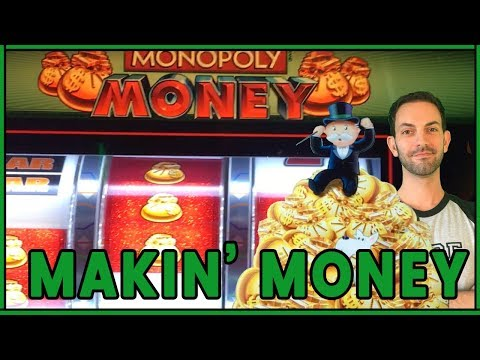🎩  Makin' Monopoly Sized Money 🎰💰 ✦ Slot Fruit Machine Pokies w Brian Christopher