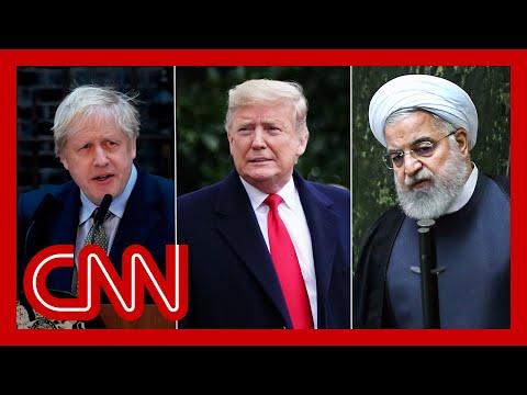 "Boris Johnson says UK needs the ""Trump deal"" in Iran nuclear agreement"