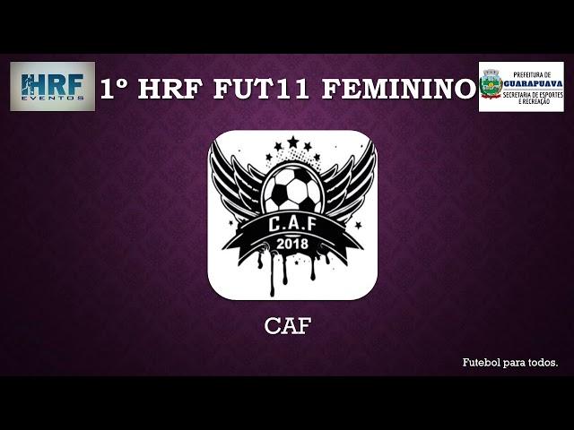 1° HRF Fut11 Feminino
