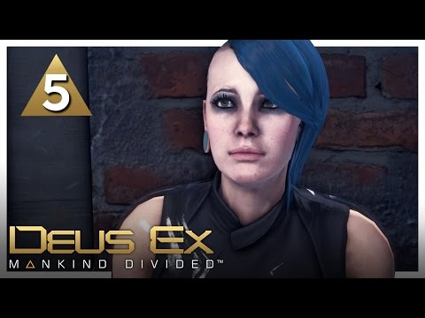 Let's Play Deus Ex: Mankind Divided Part 5 - Document Forgery [Stealth/Non-lethal PC Gameplay]