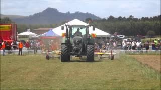 Grasslandz 2014 NZ ag machinery demonstrations