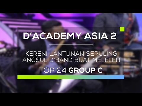 Keren! Lantunan Seruling Angsul D'Band buat Meleleh (D'Academy Asia 2)