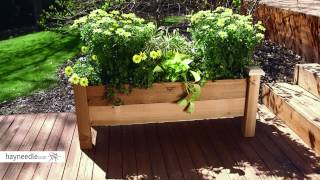 Gronomics Cedar Rustic Planter Box - Product Review Video