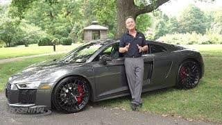 2018 Audi R8 V10 RWS Car Review & Test Drive