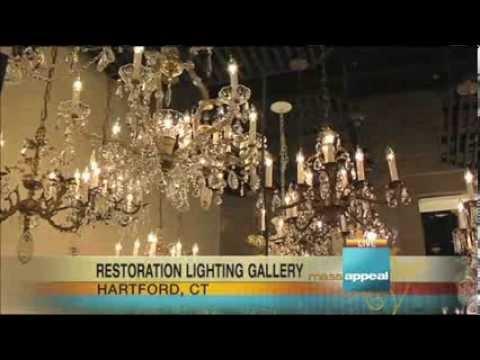 Custom Chandeliers & Lamp Shades at Restoration Lighting Gallery