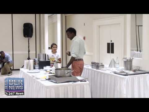 Tomato Gazpacho With Marcus Samuelsson, September 11 2015