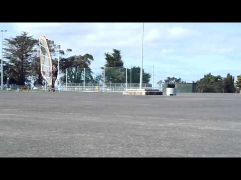 Land Windsurfing Auckland