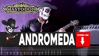 【MASTODON】[ Andromeda ] cover by Masuka   LESSON   GUITAR TAB