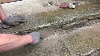 DIY Concrete Stair Repair 1 of 3
