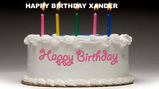 Xander - Cakes Pasteles_11 - Happy Birthday