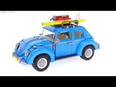 lego creator volkswagen beetle review 10252 youtube. Black Bedroom Furniture Sets. Home Design Ideas