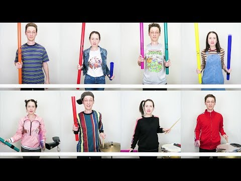 90s Medley on Boomwhackers