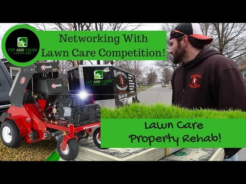 2018 Lawn Care | New Property Lawn Rehab | Keepers Lawn Care Aeration and Grass Seed