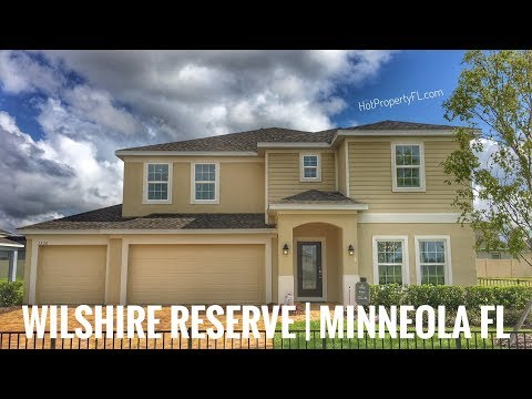 New Homes in Minneola, FL | Wilshire Reserve Model | 5 Br | 3 Ba | 3 Car Garage