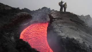 Lava Flows from Mt Etna