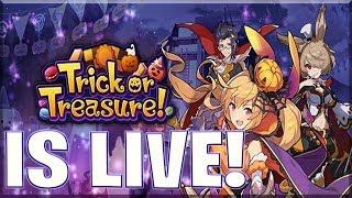 LIVE: Trick or Treasure EVENT!   Dragalia Lost