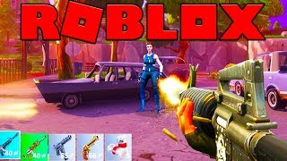 THIS ROUND HAS NO PLAYERS IN IT - FORTNITE IN ROBLOX (13 Wins) #13