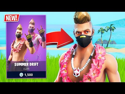 New Summer Drift  Skin! (Fortnite Battle Royale)