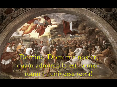 Domine Dominus Noster - Gregorian Chant, Catholic Hymns