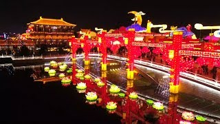 Chinese cities well lit up for Spring Festival