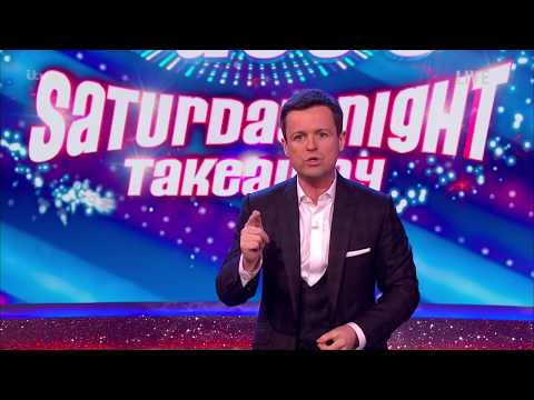 Ant & Decs Saturday Night Takeaway: Goode ITV Studios  31st March 2018