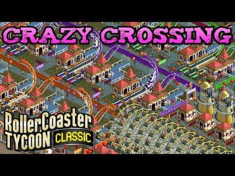 Crazy Crossing | #9 Bugfix Scenario Pack | Rollercoaster Tycoon Classic