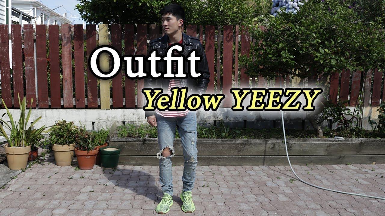 Semi-Frozen Yellow YEEZY! FT. Mint Crew