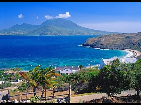 Saint Kitts, Caribbean Island in 4K