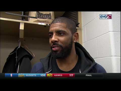 Kyrie Irving is glad to have Kyle Korver on the Cavaliers' side