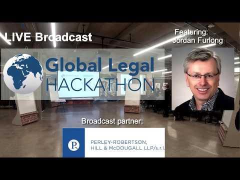 Global Legal Hackathon - Featuring Jordan Furlong