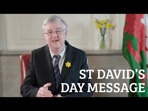 St David's Day Message 2021