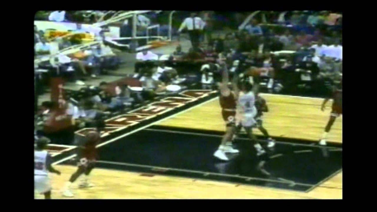 Rony Seikaly 30 Points 23 Rebs Vs Michael Jordan 29 Points