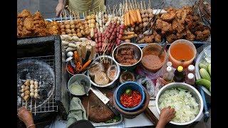 Bangkok Street Food - Soi 38 Sukhumvit Thailand - Night Market