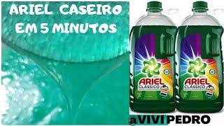 Faça Seu Ariel Liquido com Somente 3 Ingredientes e Fica Pronto em 5 Minutos