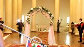 Не удержал невесту. Wedding Fail . The bride falls.
