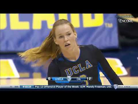 UCLA at CAL - NCAA Women's Volleyball (Sept 27th 2015)